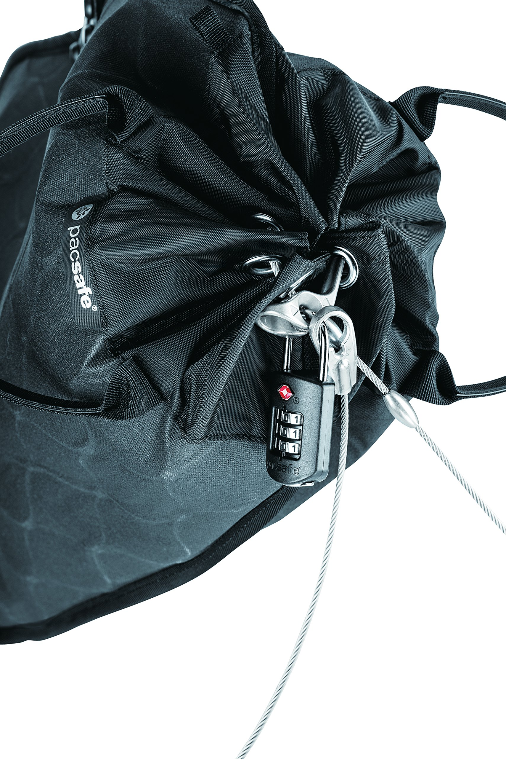Pacsafe Travelsafe 12L GII Portable Safe, Charcoal by Pacsafe (Image #4)