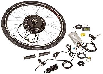 10c301775a1 Aosom Rear Wheel 48V 1000W Electric Bicycle Motor Conversion Kit ...