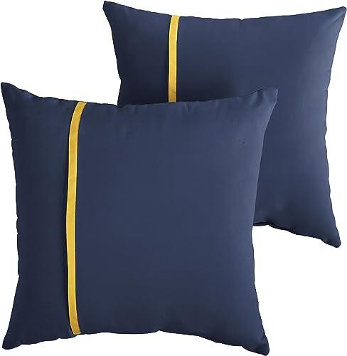 Mozaic Company AMPS112199 Indoor Outdoor Sunbrella Square Pillow