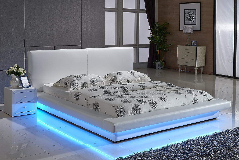 modern cal king bed