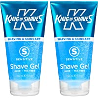 King of Shaves - Gel de rasage pour peaux sensibles - 150 ml - lot de 2