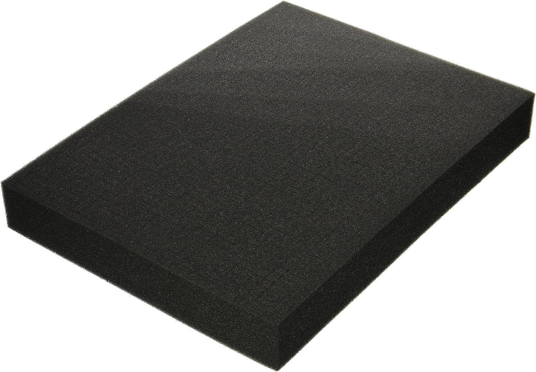 17.7 x 12.5 x 2.4 Inches SRA Cases Pre-Scored Foam Block Insert For EN-AC-FG-A019 Case