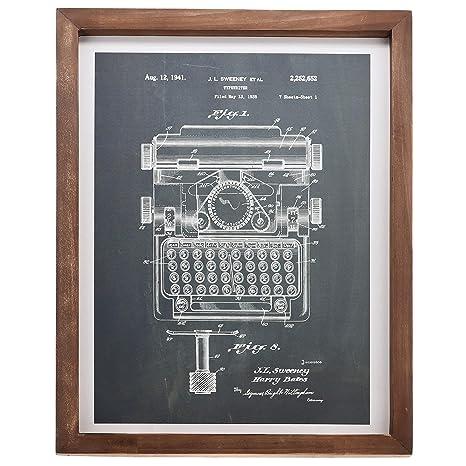 Amazon.com: Barnyard Designs – Cartel con diseño de máquina ...