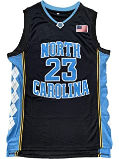 21715416e612 North Carolina Tar Heels  23 College Style Basketball Jersey Blue Black