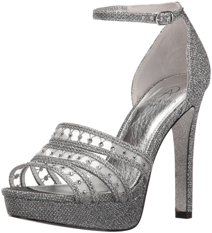 Adrianna Papell Women's Morgan Platform Dress Sandal B01LZUAOZQ 10 B(M) US|Gunmetal