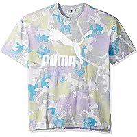 PUMA 男士夏季热带背心全身印花