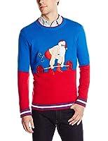 Blizzard Bay Men's Deadlift Santa Ugly Christmas Sweater