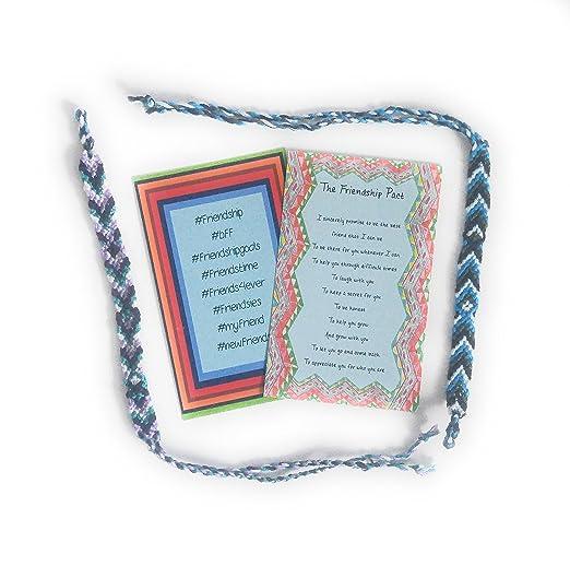 1f9e8c4796a30 Amazon.com: 2-Pack Friendship Bracelet Gift Bundle: Clothing