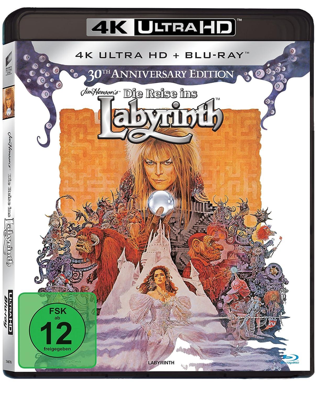 Die Reise Ins Labyrinth 30th Anniversary Edition 4k Ultra Hd Blu