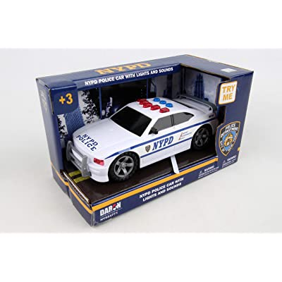 Daron NYPD Police Car with Lights & Sounds: Toys & Games [5Bkhe0500216]