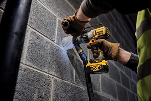 DeWalt DCD996's chuck holds up bits more tightly well while drilling