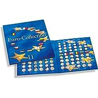 Leuchtturm 337527 Álbum para Monedas PRESSO, Euro-Collection, tomo