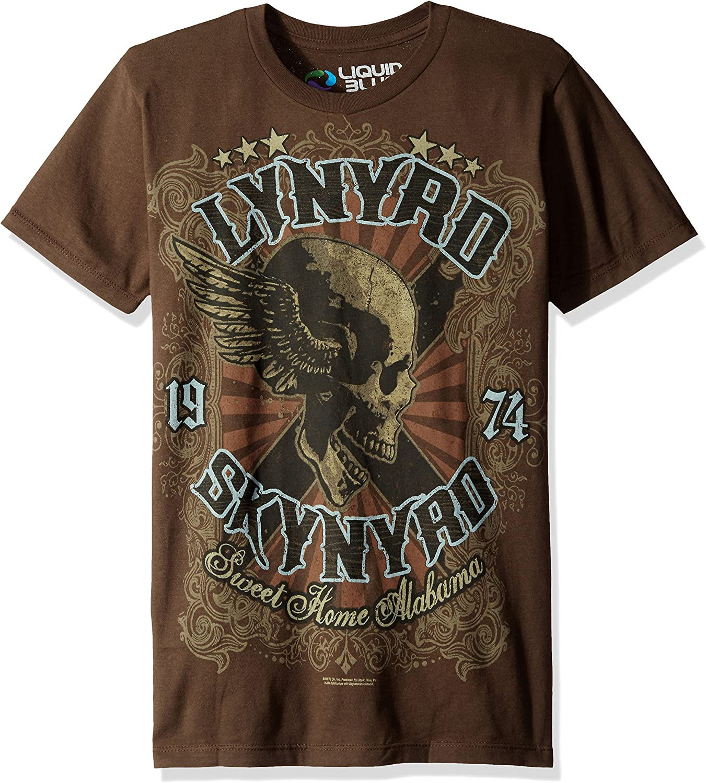 Liquid Blue Men's Lynyrd Skynyrd Sweet Home Alabama Short Sleeve T-Shirt