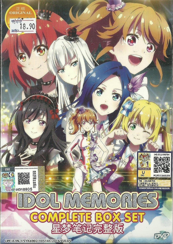 Idol memories complete anime tv series dvd box set 1 12 episodes amazon co uk katsuya kikuchi dvd blu ray