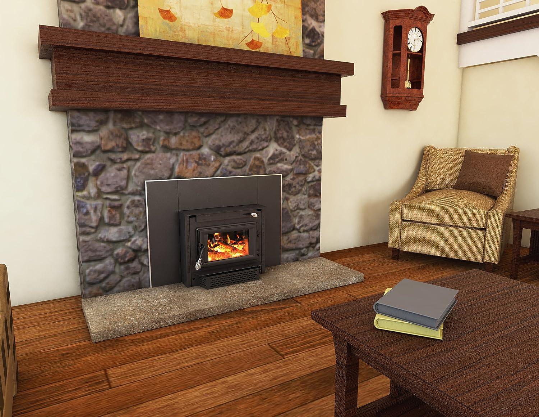 amazon com us stove 2200i epa certified wood burning fireplace