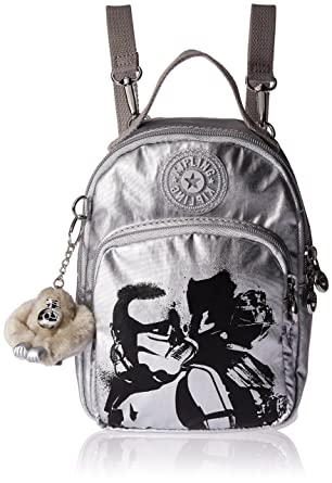 Amazon.com  Kipling Star Wars Alber 3-In-1 Convertible Mini Bag Backpack  Sand Storm  Clothing 8e65962dbe0ae
