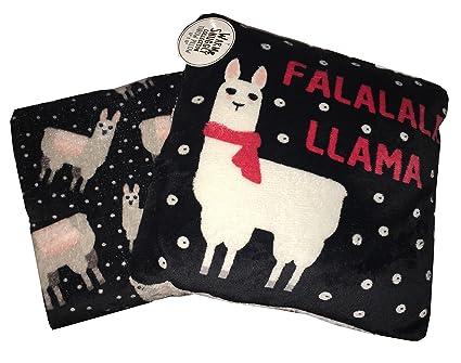 Amazon Falalala Llama Pillow Festive Throw Faux Cashmere Mesmerizing Llama Throw Blanket