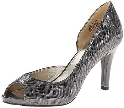 Womens Shoes Anne Klein Octavie Silver Leather