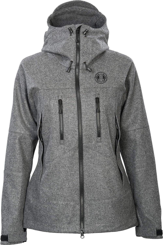 Petromax Bergmaid Loden Jacke Damen Stone Grey 2020 Funktionsjacke