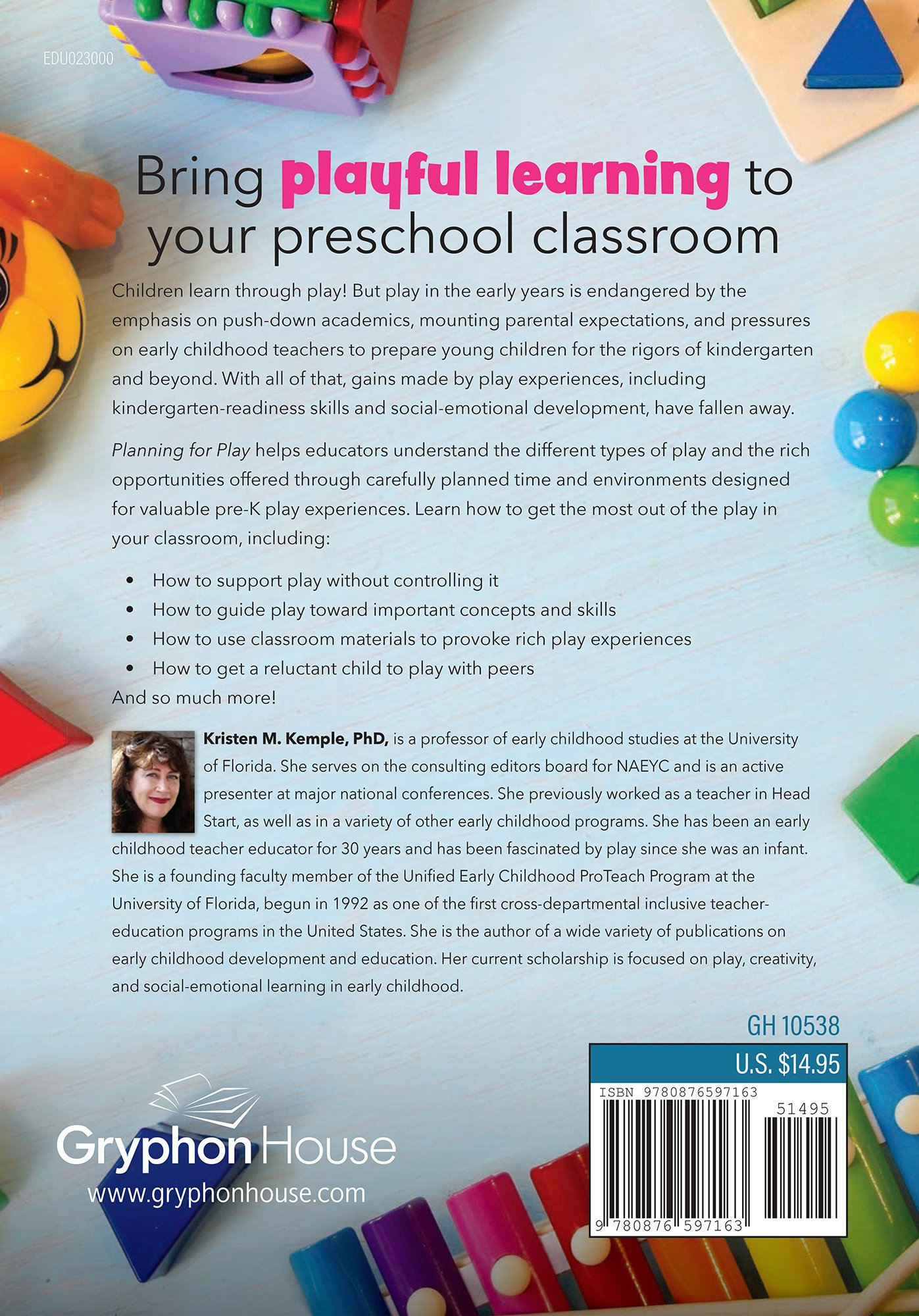 planning for play strategies for guiding preschool learning