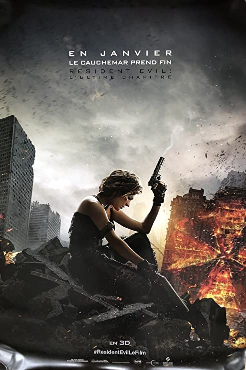 Amazon Com Resident Evil The Final Chapter 2017 Original