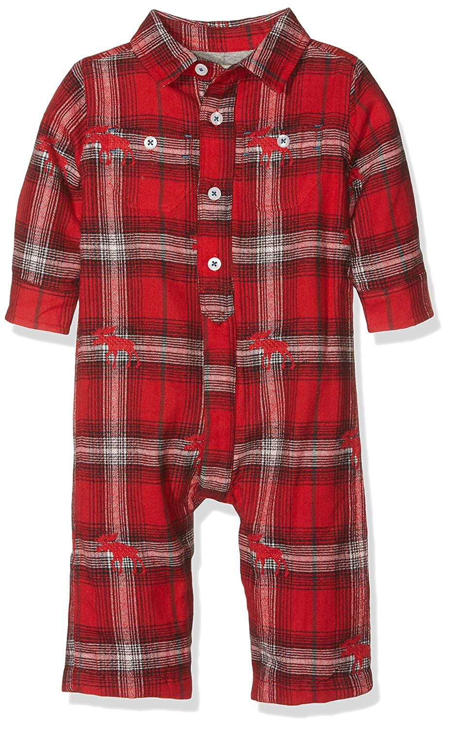 Hatley Baby-Jungen Spieler Swiss Wilderness Button One-Piece-Infant