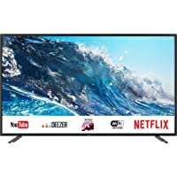 """Sharp LC-43UI7252E - Smart TV de 43"""" (UHD, resolución 3840 x 2160, HDR, Sonido Harman/kardon, 3X HDMI, 2X USB, 1x USB 3.0, Active Motion 400) Color Negro"""