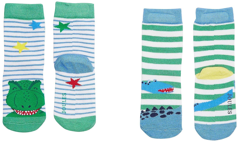joules Baby-Jungen Neat Feet Socken per of 2