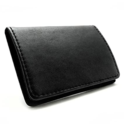 Amazon rembrandt leather business card holder office products rembrandt leather business card holder colourmoves