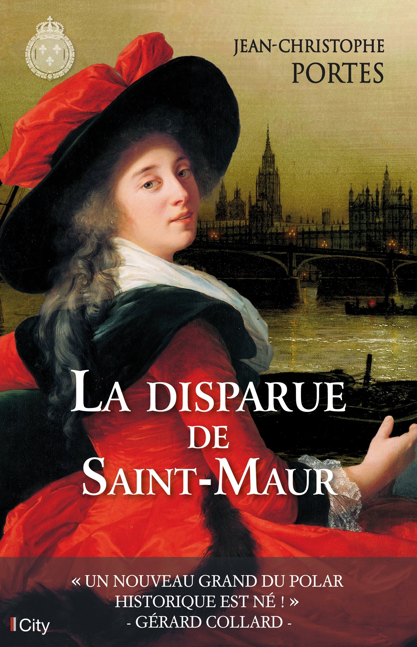 La disparue de Saint-Maur Broché – 15 novembre 2017 Jean-Christophe Portes City Edition 2824610999 Romans