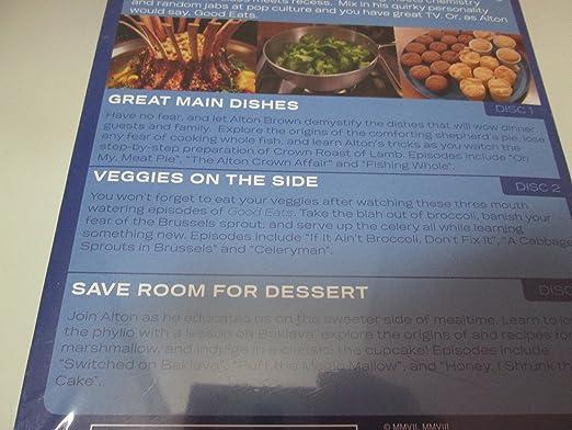 Amazon.com: Alton Brown - Good Eats on the Table: Alton ...