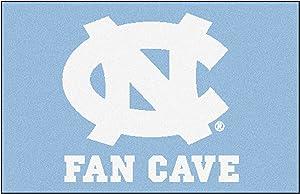 "FANMATS 14620 UNC University of North Carolina Chapel Hill Fan Cave Starter Rug,19""x30"""