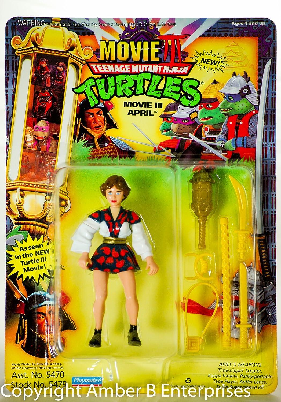 1992 Movie 3 III Abril Teenage Mutant Ninja Turtles TMNT ...