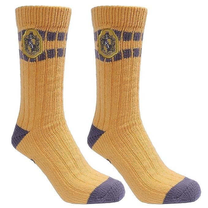 Calcetines color amarillo y gris HARRY POTTER