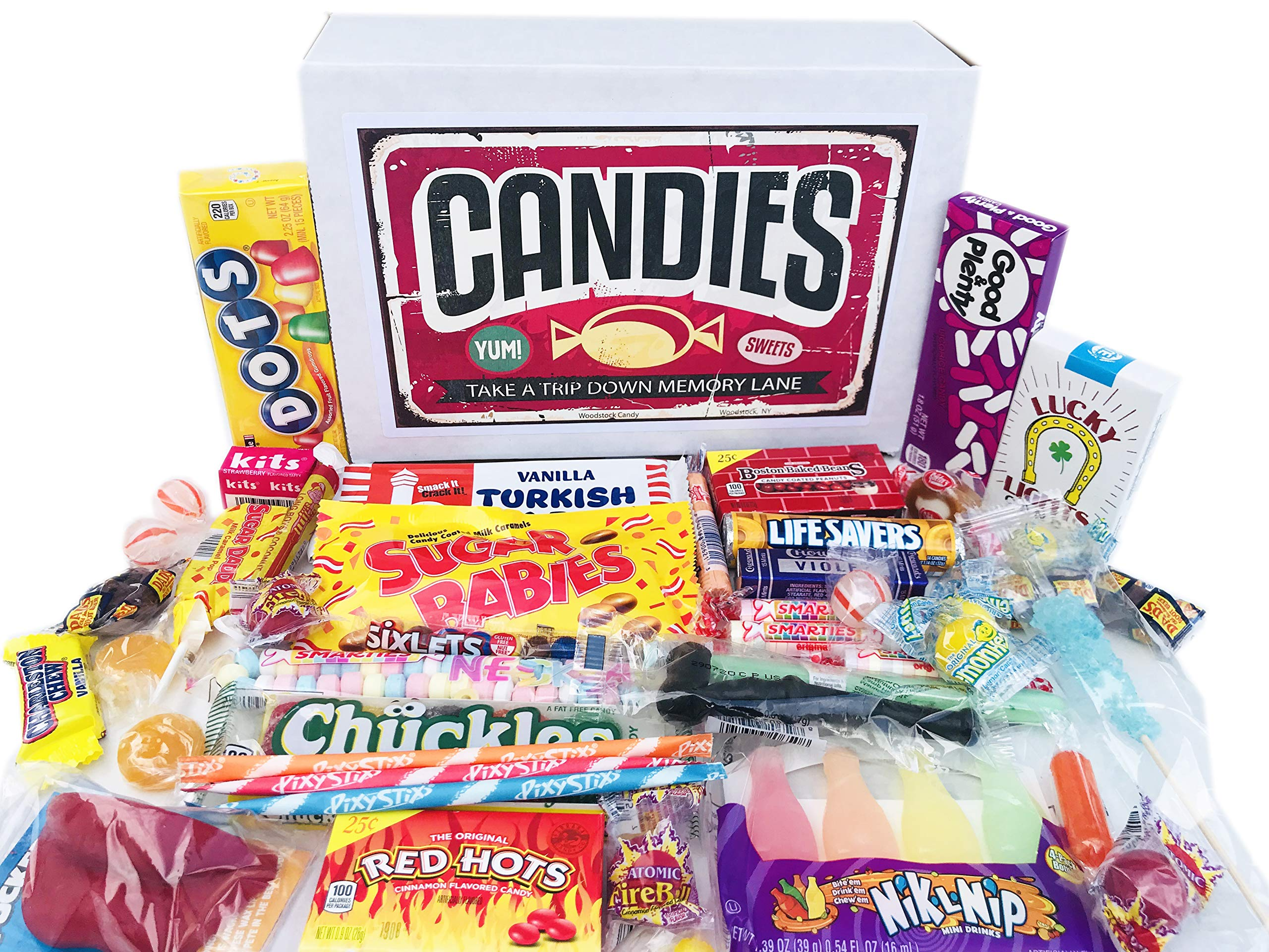 Woodstock Candy ~ Classic Old Fashioned Vintage Candy Assortment for Birthday Party Celebration, Get Well, Thinking of You - Jr