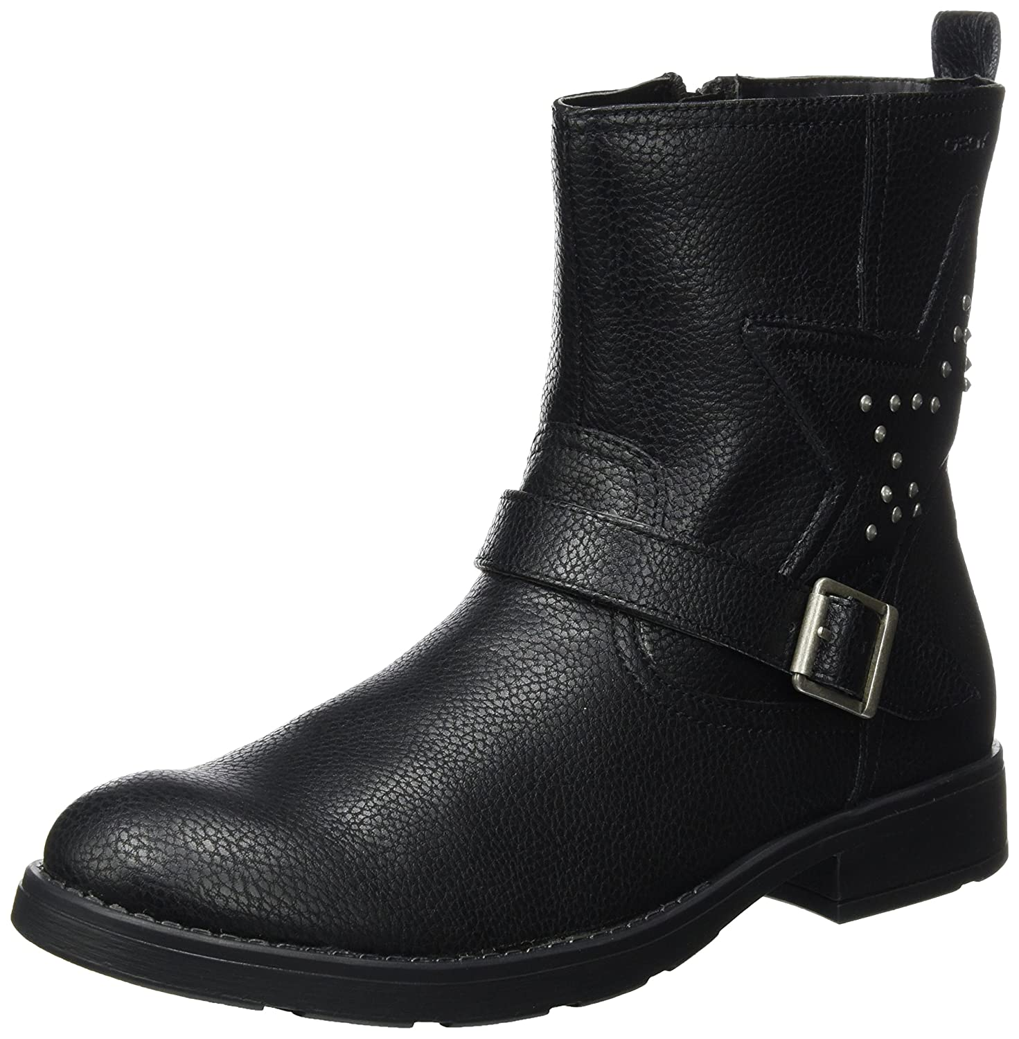 Geox Jr Sofia (Black) C, Bottes Motardes Jr Fille Sofia Noir (Black) 5324786 - automaticcouplings.space