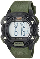 Timex Men's Expedition Digital Shock CAT Resin Strap Watch Review