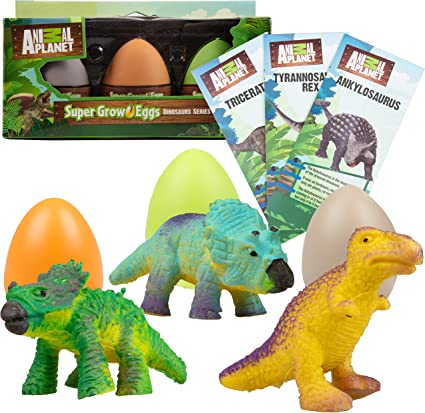 Magic Hatching Dinosaur Add Water Growing Dino Eggs Inflatable Child Kid Toy FD