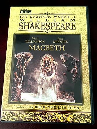 drama macbeth by william shakespeare