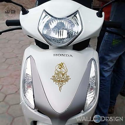 Walldesign Radium Stickers Design For Bikes Om Tattoo Design