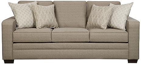 Simmons Upholstery 9065 03 Seguin Pewter Seguin Pewter Sofa, Pewter