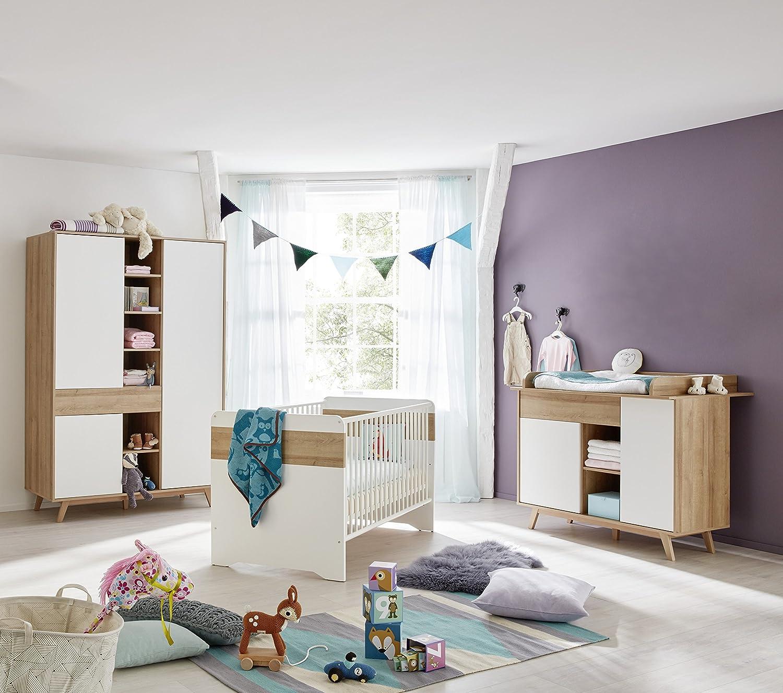 Neues Modell Babyzimmer Kinderzimmer Komplett Set Denver In