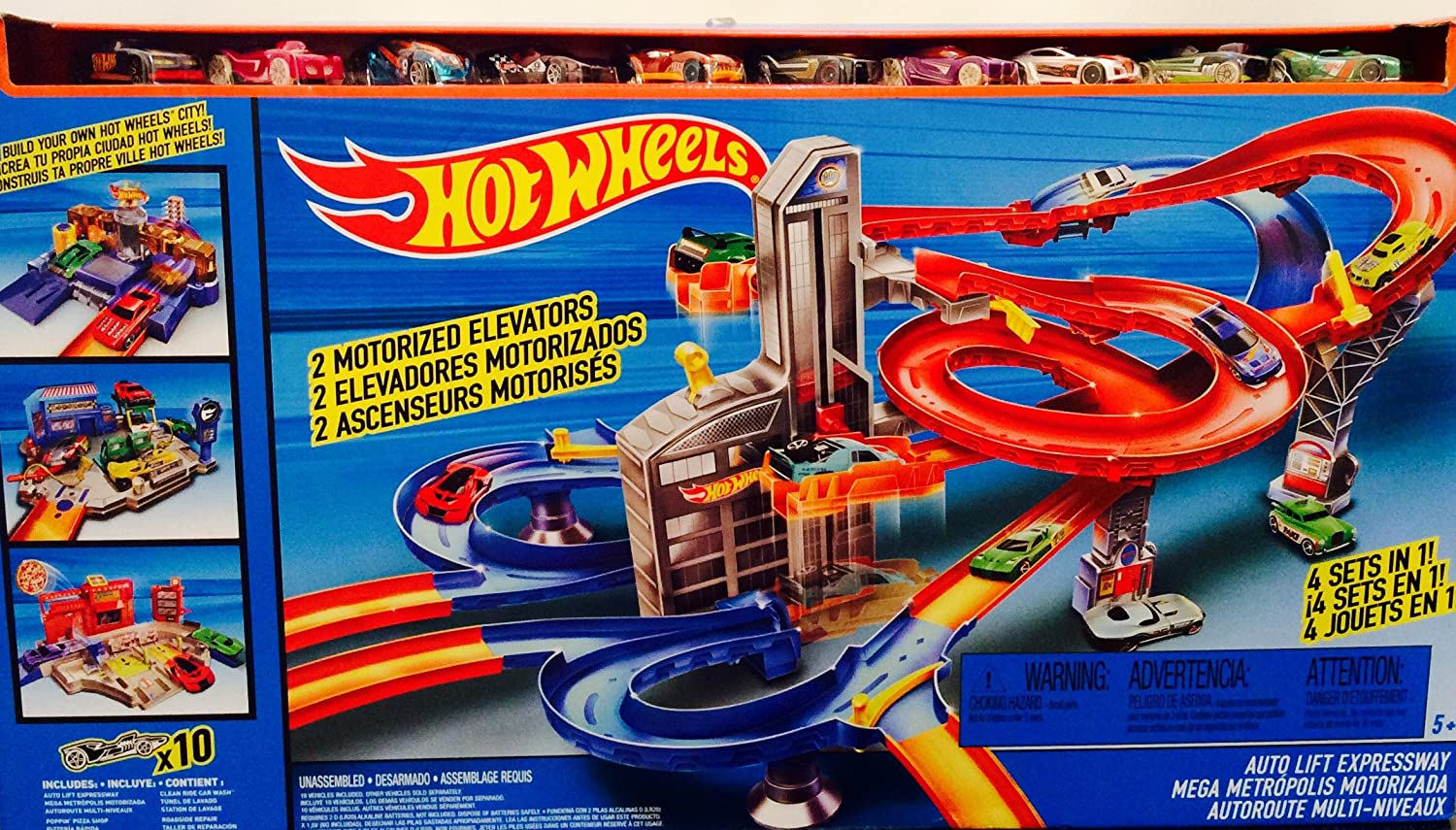 Hot Wheels Mega Car Garage Set By Hot Wheels Amazonde Spielzeug