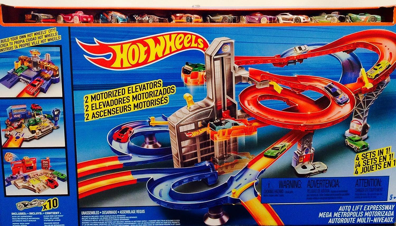 Hot Wheels Wheels Wheels Mega Metropolis Ndash 5 Juegos De Ciudad