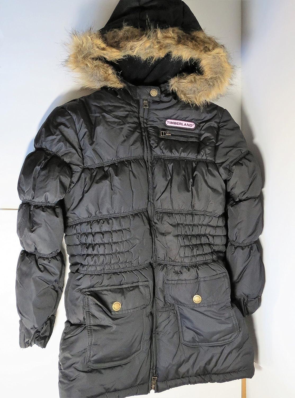 construcción naval Cumplimiento a jardín  Timberland Winter Water Repellant Faux Fur Hooded Jacket Women's 16
