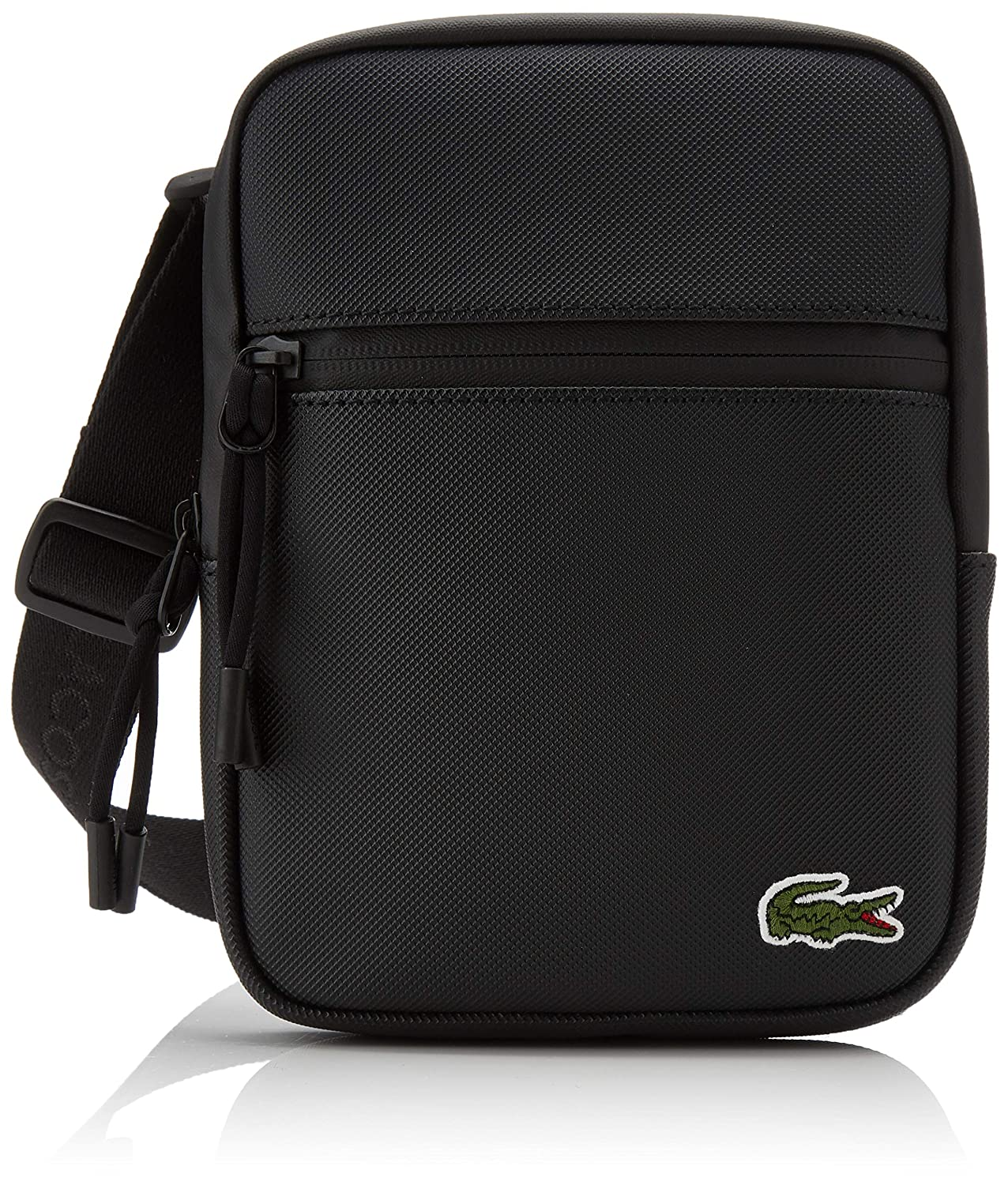 8bb2a02dca Lacoste Men's NH2884PO Shoulder Bag Black Size: One Size: Amazon.co.uk:  Shoes & Bags