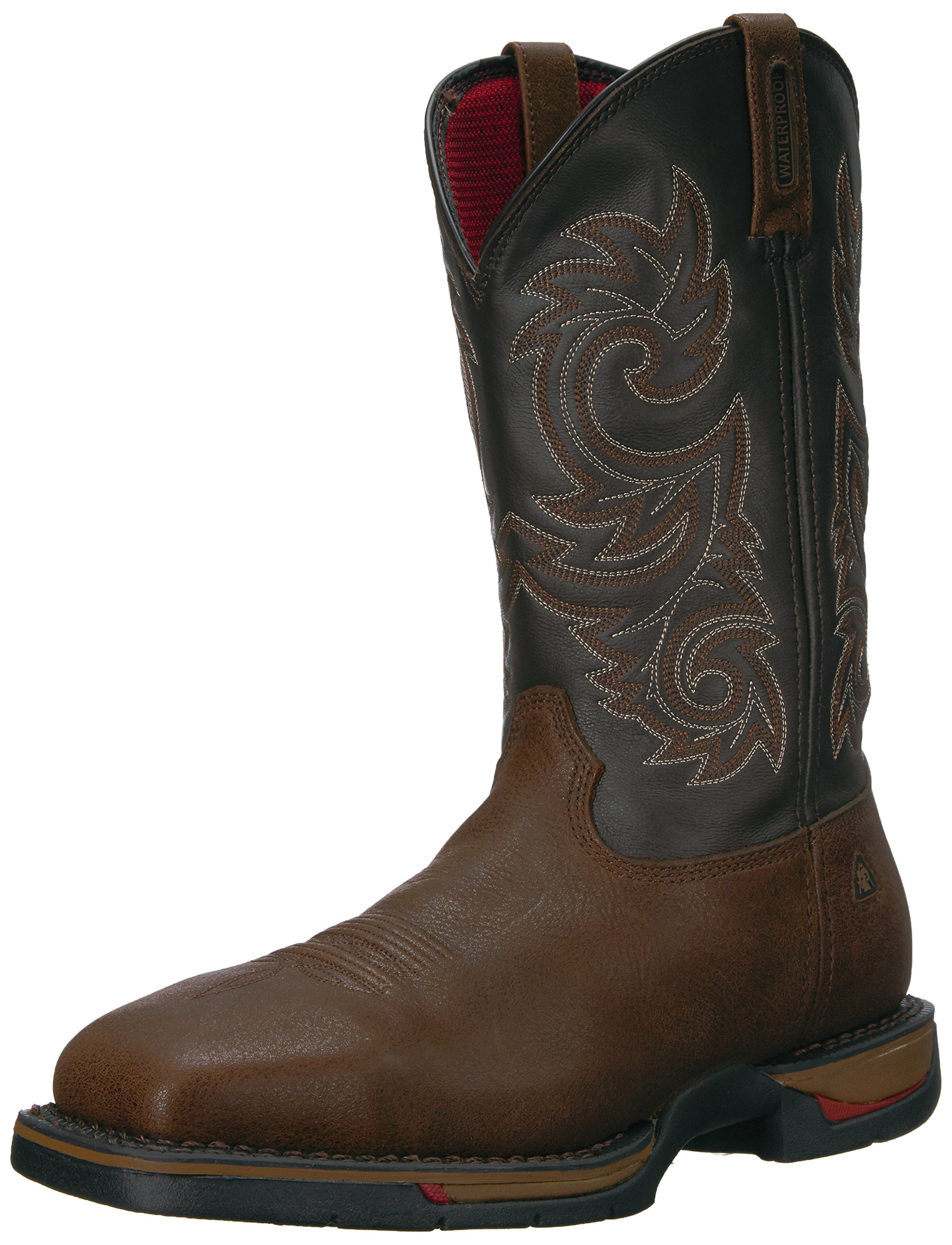 Rocky Men's FQ0006654 Western Boot, Coffee, 10 M US