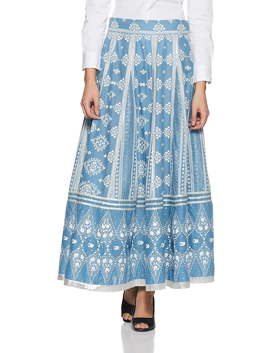 bluee W for Woman Women's Full Flared Skirt