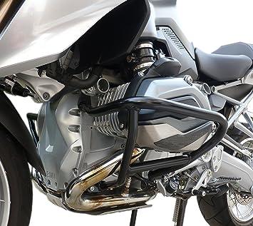 Paracilindri-paramotore tubolare in ferro verniciato Argento compatibile con BMW R 1200 GS LC 2015