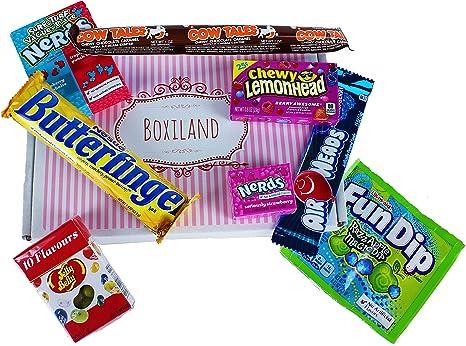 Juego de Dulces Americanos - Paquete en Caja | Mezcla de dulces ...
